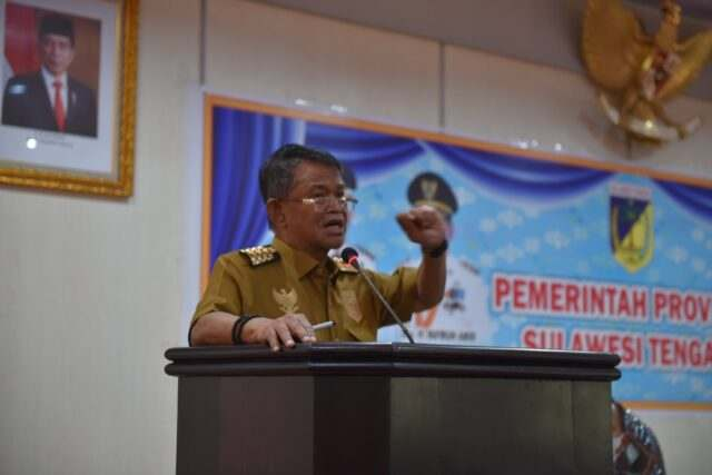 Gubernur Sulteng- Rusdy Mastura