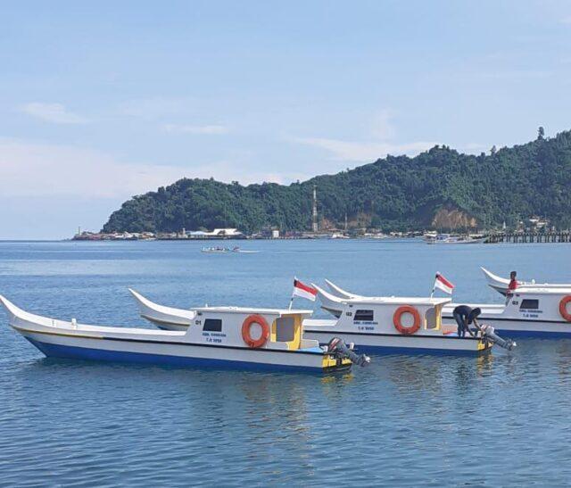 Bantuan kapal nelayan-ditolitoli